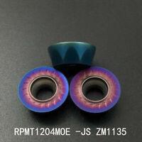 10pc RPMT1204MOE-JS ZM1135 carbide insert milling cutter inserts lathe tools