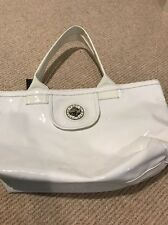 Marc by Marc Jacobs New White Patent Tote Bag
