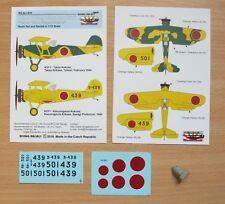 Rising Decals ACR035 1/72 K5Y1 Capucha de vuelo sin visibilidad esquema de camuflaje Amarillo' '