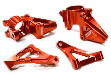 C25275RED Integy Billet Steering Knuckle Set for HPI Baja 5B2.0, 5T & 5SC