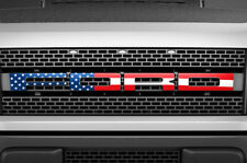F150 SVT Raptor Ford Grill Insert Graphics Stickers Decals 2010-2014 USA FLAG