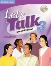 Let's Talk Level 3 Student's Book With Self-Study Audio Cd (let's Talk (cambr...