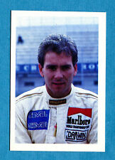 SUPER GRAND PRIX Euroflash '88 Figurina-Stickers n. 65 - OSCAR LARRAURI -New