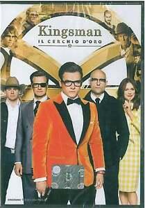 KINGSMAN IL CERCHIO D'ORO DVD