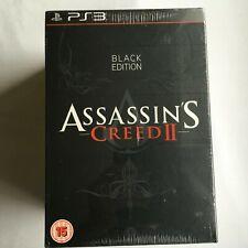 "Assassin's Creed II 2 Black Edition with Ezio Statue ""NEW"" SEALED RARE"