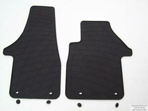 VW T6/T5 Front Cabin Footwell Rubber Mat Right Hand Drive, Drivers Side Only