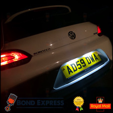 VW Scirocco 2008-2017 Xenon White LED Number Plate / License Light Bulbs Upgrade