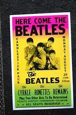 Beatles Tour Poster 1966 Candlestick Park #1