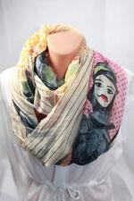 Bufandas y pañuelos de mujer de viscosa sin marca color principal multicolor