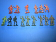 15 MPC RINGHAND figures MPC/MARX 1960s? ring hand playset vintage soldiers Lot 2