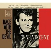 "GENE VINCENT ""RACE WITH THE DEVIL-ESSENTIAL COLLECTION"" 2 CD NEW!"