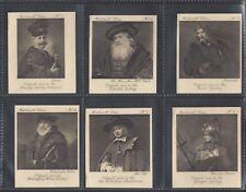 More details for ardath - rembrandt series (splendo cigarettes) - full set of 40 cards
