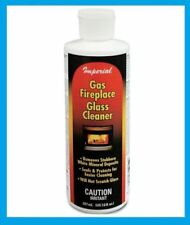 Imperial Gas Fireplace Glass Cleaner Mineral Remover 8oz Seals & Protects KK0044