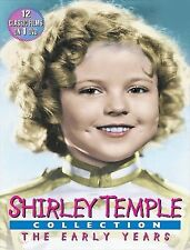 Shirley Temple The Early Years (Black an DVD