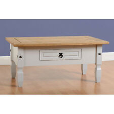 Corona 1 Drawer Coffee Table Painted Grey