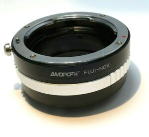 Mount Adapter Ring Sony NEX ILCE E camera  for FUJI FX (X) mount Fujica Lens