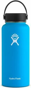 Hydro Flask Wide Mouth 946 ml – Water Bottle, unisex adult, pacific Hydroflask