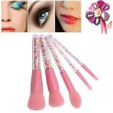 5PCS Glitter Makeup Brushes Colorful Candy Beads Powder Eye Crystal Brush Set