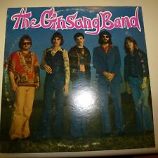 SOUTHERN COUNTRY ROCK 33 RPM LP RECORD - THE GINSANG BAND - LEMCO 770422 - STERE