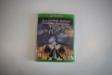 saints saint row IV 4 re elected gat out of hell first edition xbox one neuf