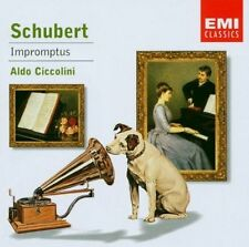 Schubert Impromptus Ciccolini Emi Classics CD.New & Sealed 724357588423