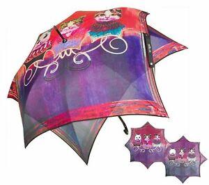 Cats Umbrella - Windproof Water Resistant Microfiber Double Canopy - Rain & Sun