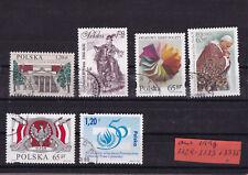 Polen 1998: kleine Sammlung gestempelt (3)