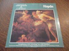 """33 tours livre disque HAYDN symphonies n° 101 """"l'horloge"""" et n° 104 """"londres"""""""