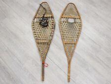 Authentic Vintage Pair of Used Snowshoes (47-90-G3459) 8U
