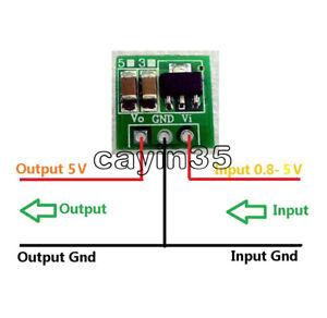 1.8V 2.5V 3V 3.3V 3.7V To 5V DC-DC Step Up Power Voltage Boost Converter Board U