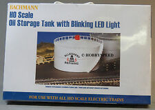 BACHMANN HO SCALE OIL STORAGE TANK W BLINKING LED LIGHT train Allegheny 46219