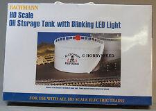 BACHMANN HO SCALE OIL STORAGE TANK W BLINKING LED LIGHT train Allegheny 46219