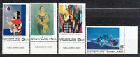 Thailand - Mail Yvert 2038/41 MNH Paintings