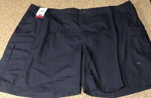 "Men's Tru-Spec  Blue Tactical Cargo Shorts Rip Stop  Inseam 9"" Waist 56"