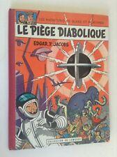Le piège diabolique EO 1962 MAUVAIS ETAT Blake et Mortimer