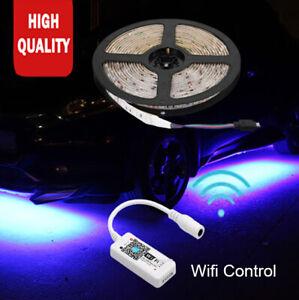 Under Car Tube Underglow Ambient RGB Underbody System Neon Light APP LED Strip