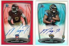 #/25 RED RC Auto + Refractor Auto  ** Marqise Lee **  2014 Bowman Chrome  Rookie