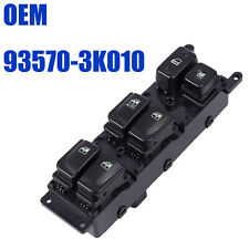 Front Left Master Power Window Regulator Switch For Hyundai Sonata 93570-3K010
