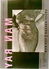 Original vintage poster MAN RAY SWISS PHOTO EXPO ZURICH 1988