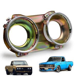 For Datsun Pickup 620 72 - 1979 RH Frame Head Lamp Light Housing Bucket Chrome