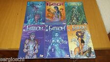 THE FANTHOM 1 2 3 4 5 6-MICHAEL TURNERS- sequenza - Cult comics-top cow-WW1