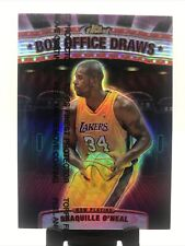 1999-2000 Topps Finest Shaquille Oneal Refractor Box Office Draws BOD1