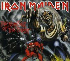 CDs de música metal británico Iron Maiden