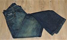 G Star GS01 Raw Denim 3301 Distressed Dark Blue Jeans  - W32 L33