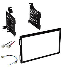 Radio Dash Stereo Mounting Kit w/Harness & Antenna Install for Nissan Frontier