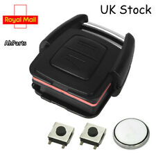 2 Button Remote Key Fob Case Service Repair Kit For Vauxhall Astra Zafira vectra