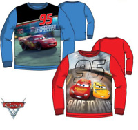 Kids Boys/Girls McQUEENS PIXAR CARS Disney Character Sweat Jumper Tops 3 4 6 8 Y