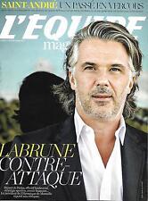 L'EQUIPE MAGAZINE N°1731 19 SEPTEMBRE 2015 OM/ LABRUNE/ SAINT-ANDRE/ OL FOURNIER