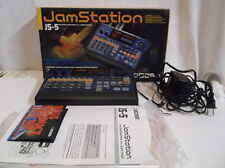BOSS JS-5 JAMSTATION Backing Machine Sequencer Drum In Box with Manuals