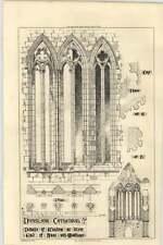 1870 Dumpling Cathedral Details Of Window West End Of Navy Mouldings